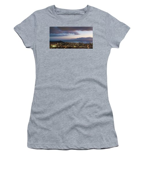 Women's T-Shirt (Athletic Fit) featuring the photograph Diamond Life by Alex Lapidus