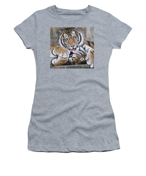Diana's Duo Women's T-Shirt (Athletic Fit)