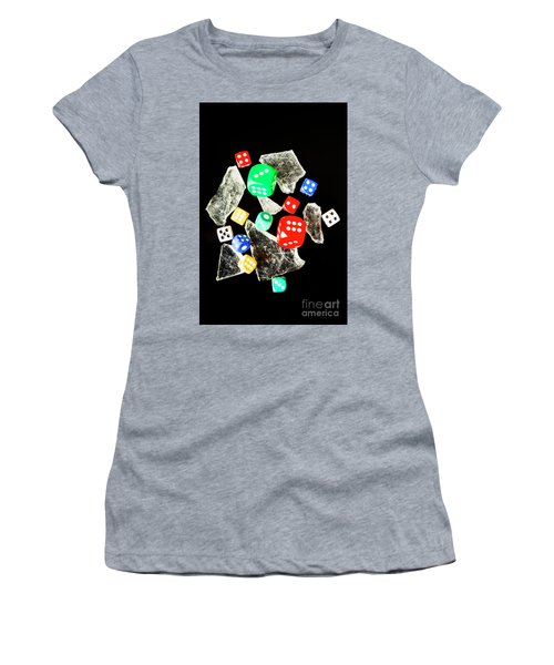 Dicing With Chance Women's T-Shirt