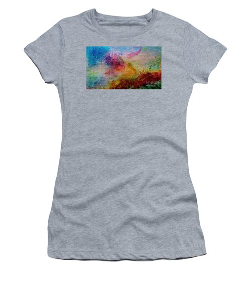 1a Abstract Expressionism Digital Painting Women's T-Shirt