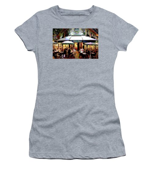 Dining Out Women's T-Shirt (Athletic Fit)