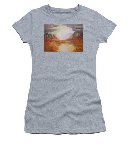 Distant Light Women's T-Shirt (Athletic Fit)