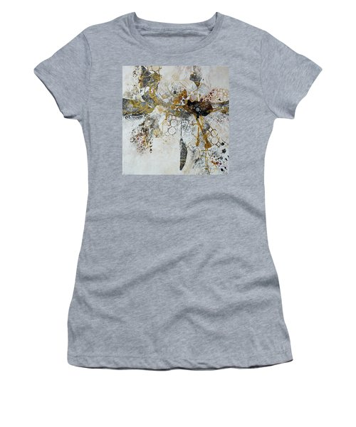 Women's T-Shirt (Junior Cut) featuring the painting Diversity by Joanne Smoley