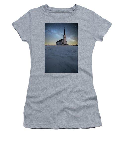 Divine Women's T-Shirt (Junior Cut) by Aaron J Groen