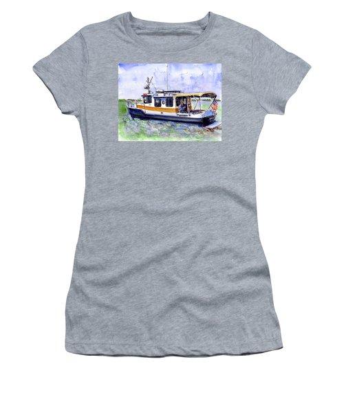 Don And Kathys Boat Women's T-Shirt (Junior Cut) by John D Benson
