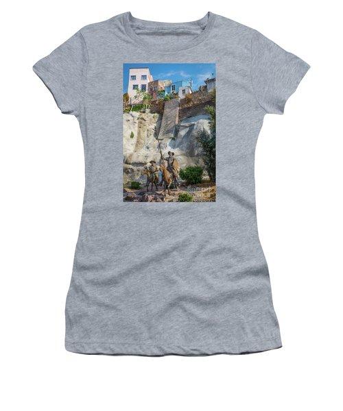 Don Quixote Y Sancho Panza Women's T-Shirt