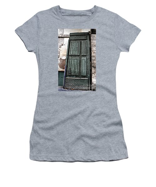 Door To The Roman Gateway Women's T-Shirt (Athletic Fit)