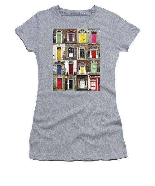 Doors Of Limerick Women's T-Shirt (Athletic Fit)