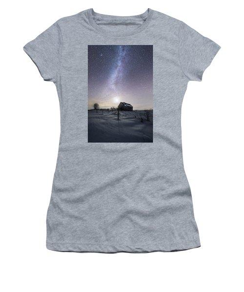 Dormant Women's T-Shirt (Junior Cut) by Aaron J Groen