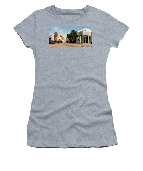 Downtown Huntington West Virginia Women's T-Shirt (Junior Cut) by L O C