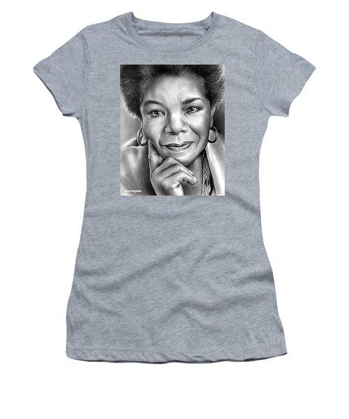 Dr Maya Angelou Women's T-Shirt