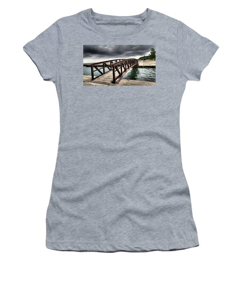 Dramatic Bridge Women's T-Shirt (Athletic Fit)