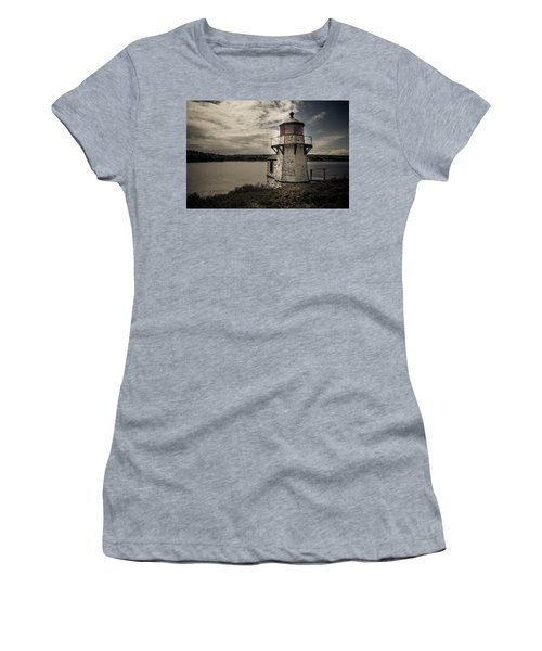 Dramatic Mid-day Shot Of Squirrel Point Women's T-Shirt