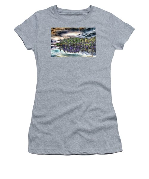 Dreaming Of The Past Women's T-Shirt (Junior Cut) by Daniel Hebard