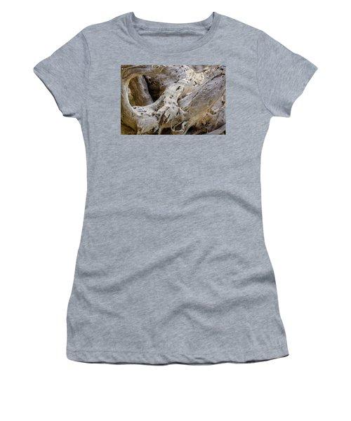 Driftwood On The Beach Women's T-Shirt