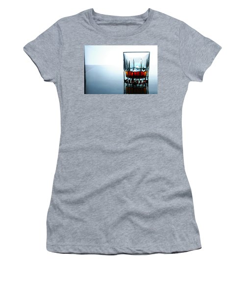 Drink In A Glass Women's T-Shirt (Athletic Fit)