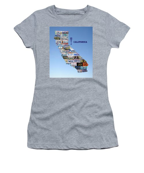 Driving California Women's T-Shirt (Athletic Fit)