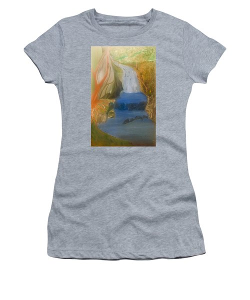Drowning At 7 Conversations Series Women's T-Shirt (Athletic Fit)