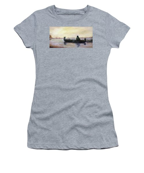 Duck Hunter Women's T-Shirt (Athletic Fit)