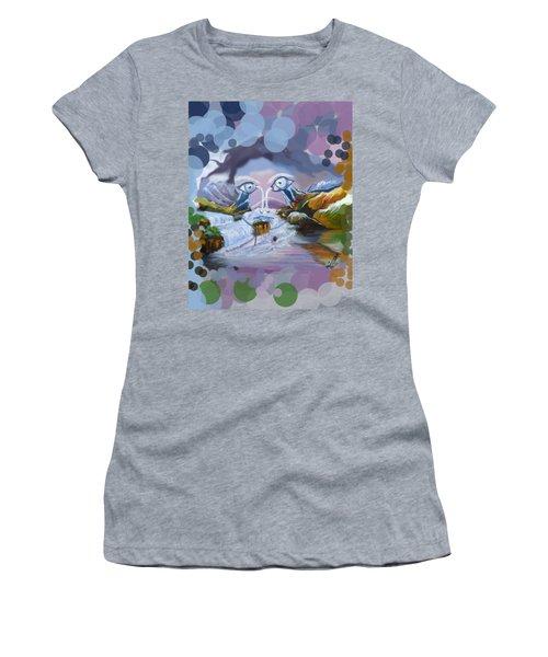 Duck Mountain Waterfall Women's T-Shirt