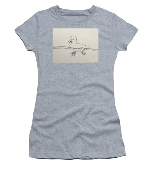Duckling Women's T-Shirt (Athletic Fit)