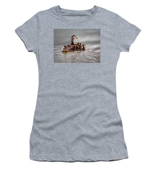 Ducky Daycare Women's T-Shirt (Junior Cut) by Sumoflam Photography