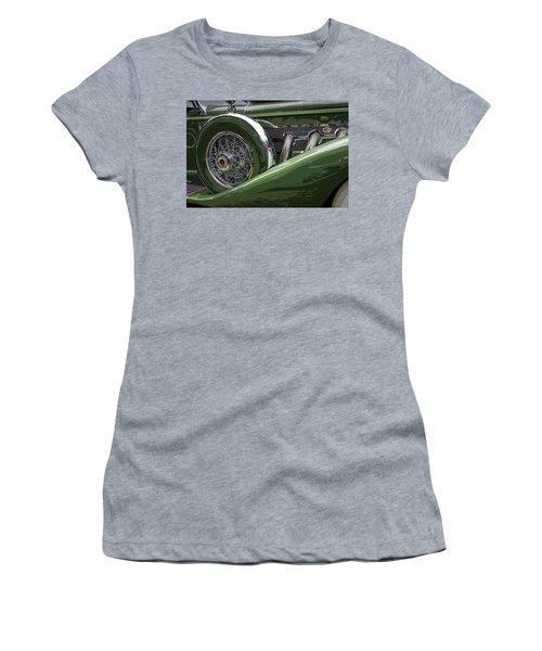 Duesenberg Women's T-Shirt (Junior Cut) by Jim Mathis
