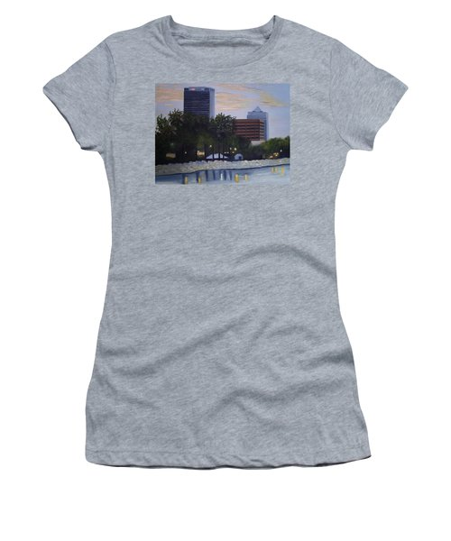 Dusk At Irish Fest Women's T-Shirt (Athletic Fit)