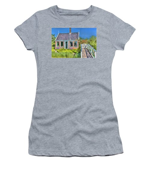 Dutch Cottage Women's T-Shirt (Athletic Fit)