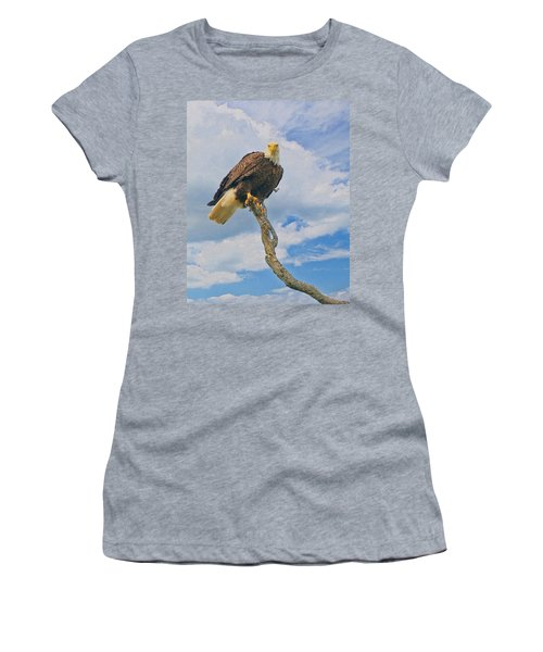 Eagle Eyes Women's T-Shirt (Athletic Fit)