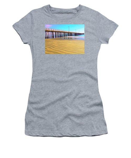 Early Morning At Avila Beach Women's T-Shirt