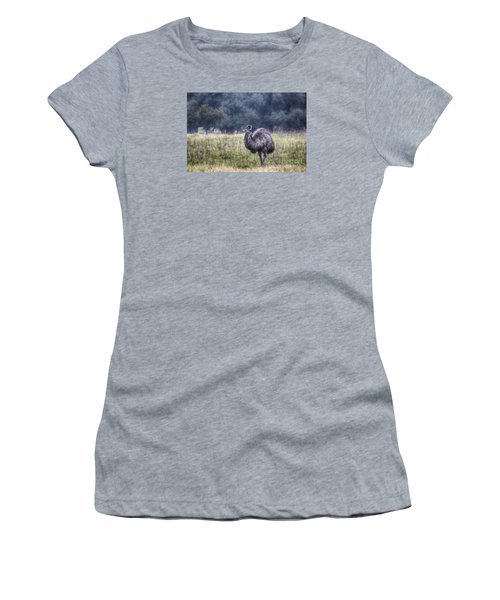 Early Morning Stroll Women's T-Shirt (Junior Cut) by Douglas Barnard