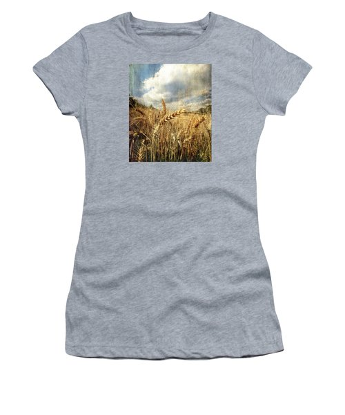 Ears Of Corn Women's T-Shirt (Athletic Fit)