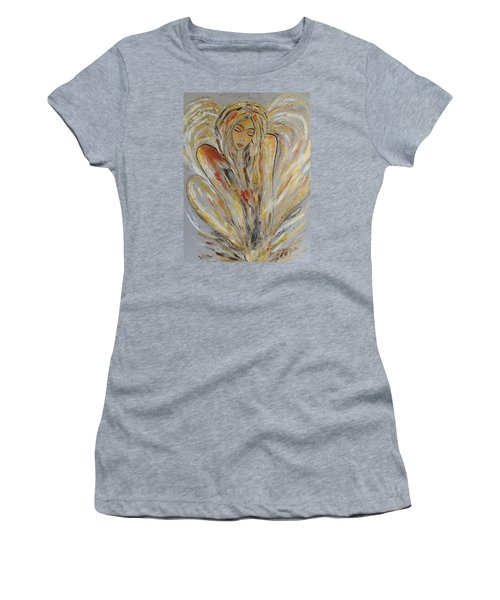 Earth Has Angels Far To Few And Heaven Is Overflowing.... Women's T-Shirt (Athletic Fit)