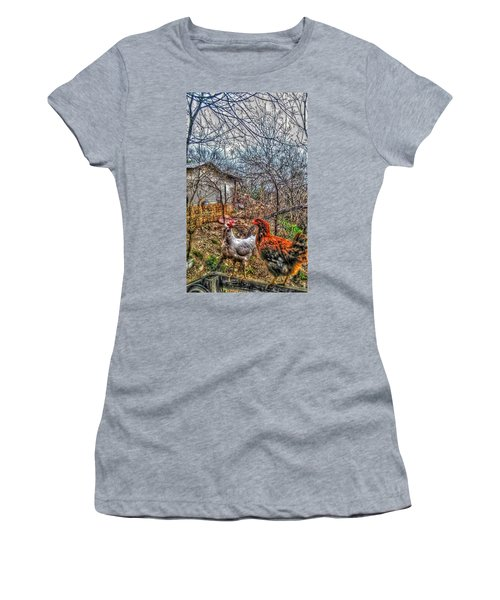 East Austin Livin Women's T-Shirt (Athletic Fit)