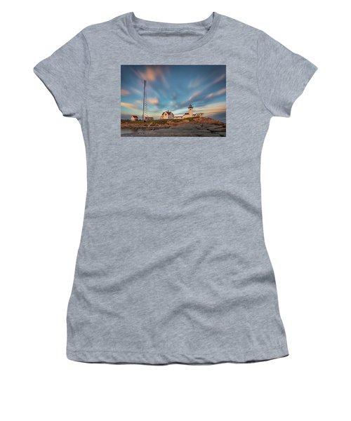 Eastern Point Lighthouse At Sunset Women's T-Shirt