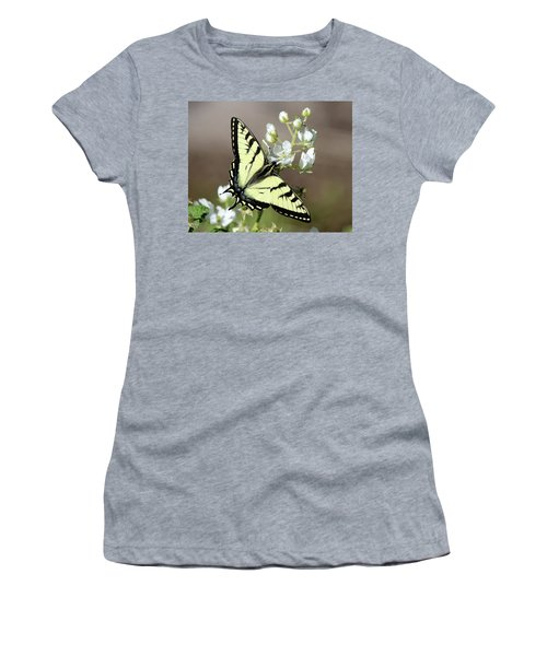 Eastern Tiger Swallowtail Female Women's T-Shirt (Athletic Fit)