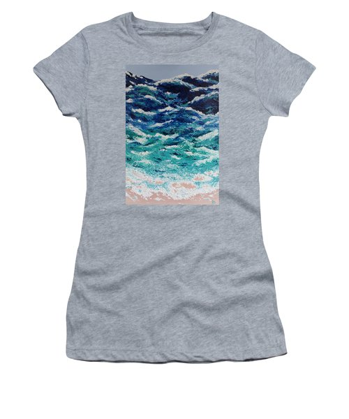Ebb And Flow Women's T-Shirt (Athletic Fit)