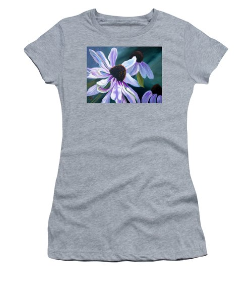 Echinacea Women's T-Shirt (Athletic Fit)