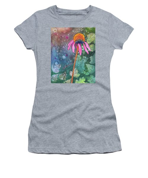 Echinacea Women's T-Shirt (Athletic Fit)
