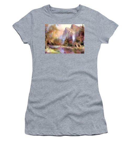 Eden Women's T-Shirt (Junior Cut) by Wayne Pascall