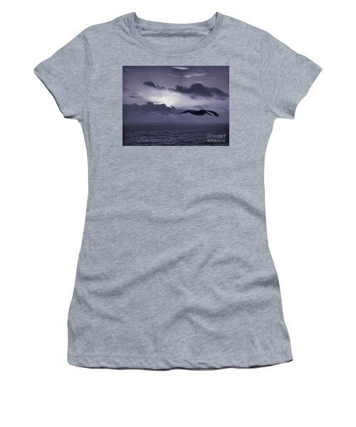 Pelican At Sunrise Women's T-Shirt