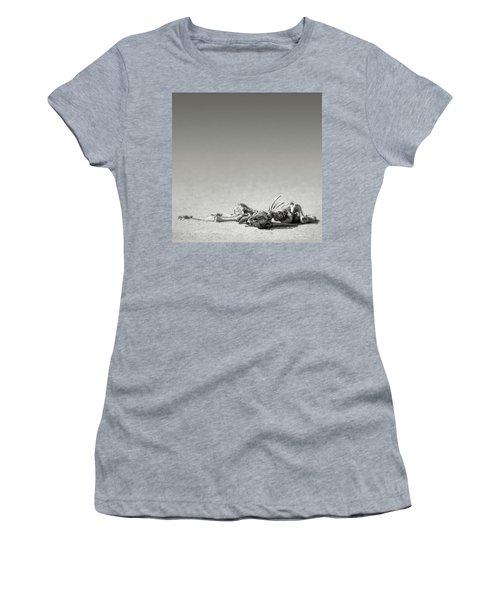 Eland Skeleton In Desert Women's T-Shirt