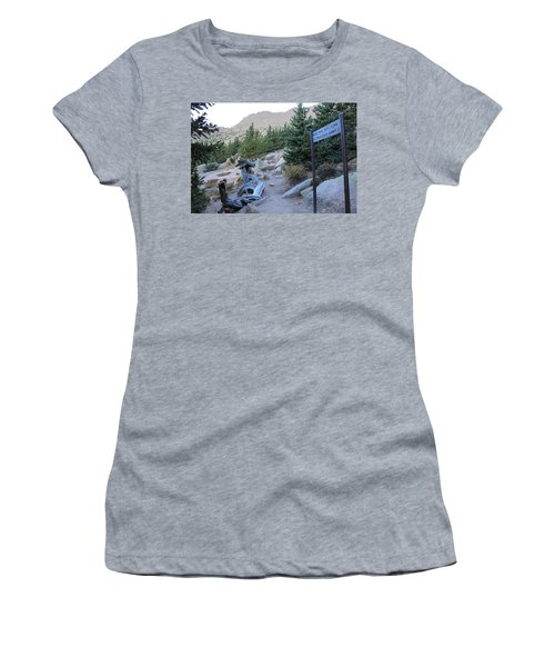 Elevation 11,500 Women's T-Shirt (Junior Cut) by Christin Brodie