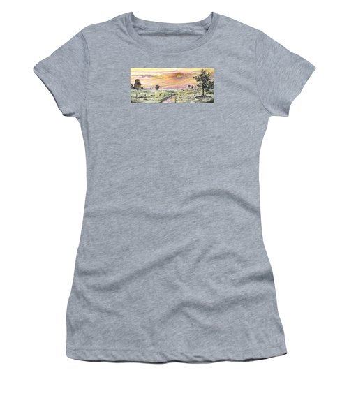 Elevator In The Sunset Women's T-Shirt