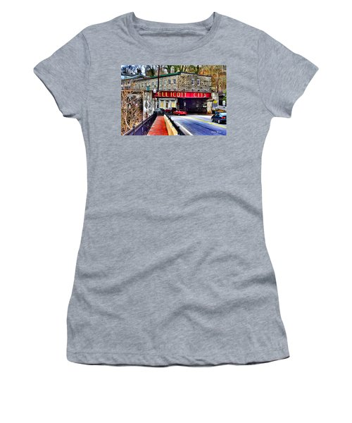 Ellicott City Women's T-Shirt (Athletic Fit)