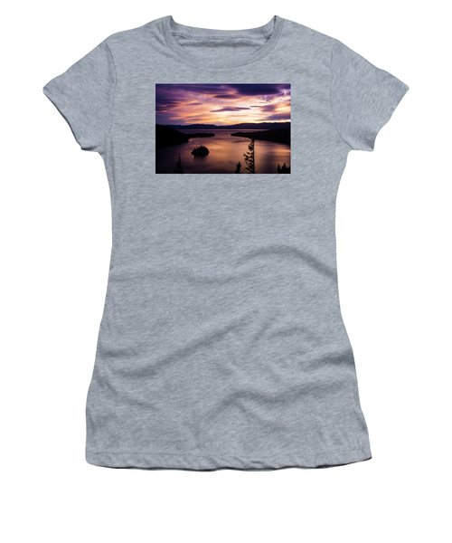 Emerald Bay Sunrise - Lake Tahoe, California Women's T-Shirt