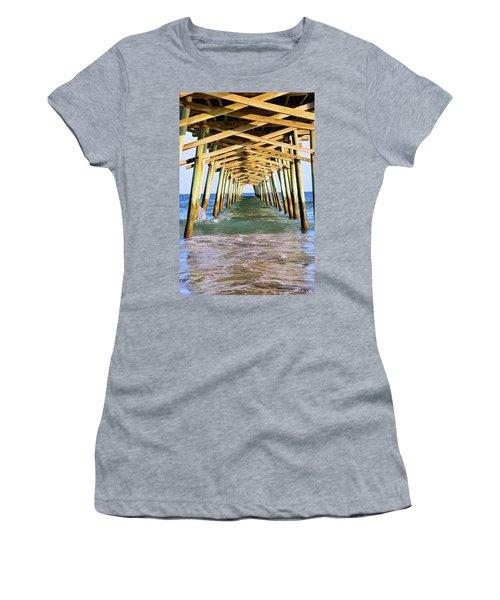 Emerald Isles Pier Women's T-Shirt