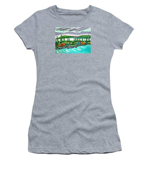 Emerald Sea Islands Women's T-Shirt