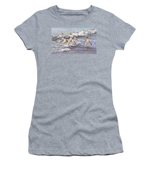 Emperor Penguins Women's T-Shirt